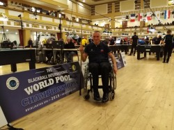 BLACKBALL - 6E JOURNEE DE CHAMPIONNAT DU MONDE BRIDLINGTON