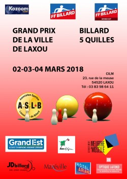 5-QUILLES : Tournoi national 4 à Laxou