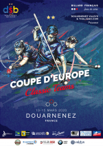 CARAMBOLE COUPE D'EUROPE CLASSIC TEAMS À DOUARNENEZ
