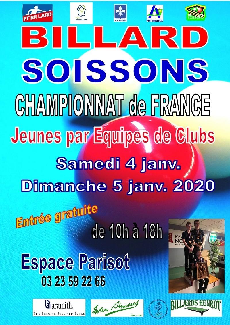 Le Bouche À Oreille Soissons championnat de france jeunes Équipes de club À soissons