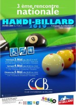 3E RENCONTRE NATIONALE HANDI-BILLARD À CHAMBERY