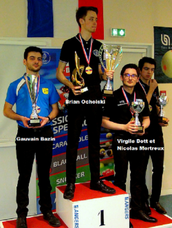 SNOOKER CHAMPIONNAT DE FRANCE JUNIORS À ANGERS