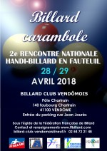 2E JOURNEE NATIONALE HANDI-BILLARD AVRIL 2018