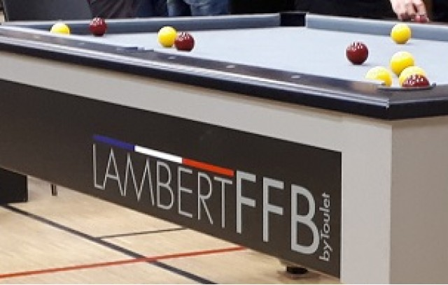 PARC DE BILLARDS BLACKBALL FFB